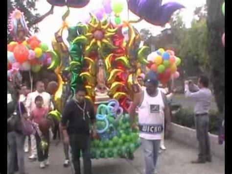 arreglo con globos para altar virgen de guadalupe 4ta peregrinacion de globos ilusion