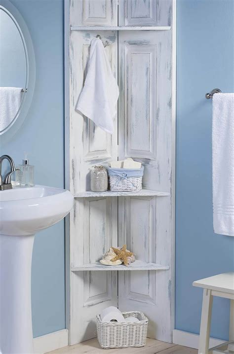 25 Best Diy Bathroom Shelf Ideas And Designs For 2017 Corner Storage For Bathroom