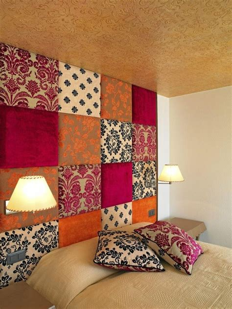 A Headboard Out Of Plywood And Fabric by 25 Best Ideas About Padded Fabric Headboards On