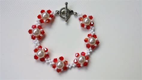 bead projects bracelet beading tutorial simple bead patterns my