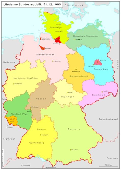 states germany map german states and capitals quotes