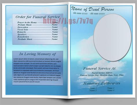 79 Best Images About Funeral Program Templates For Ms Word To Download On Pinterest Microsoft Program Templates
