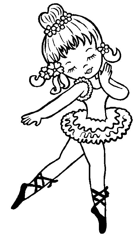 cute ballerina coloring pages girls coloring pictures ballet coloring pages 1 gif