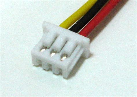 Connector Micro Jst 125 3pin micro jst 1 25mm 3 pin connector with wire x 10 sets ebay