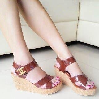 Catenzo Branded Sandal Flat Wanita tas sepatu model sepatu dan sandal wanita terbaru