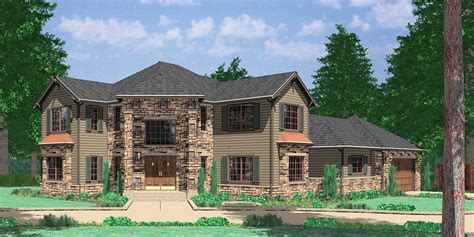 Two Story House Plans With Front Porch by Corner Lot House Plans And House Designs For Corner Properties