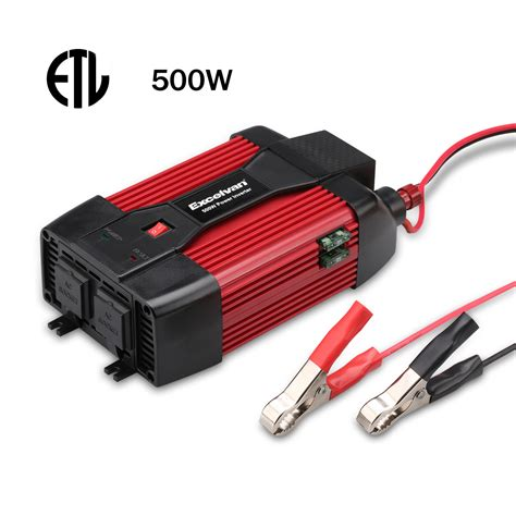 Convert L To Battery Power by 500w 12v Dc To 110v Ac Car Power Inverter Battery Charger Converter Electronic Ebay