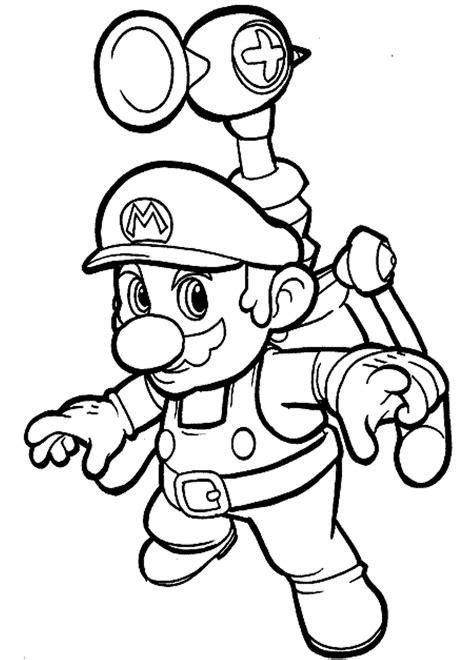 New Super Mario Bros Coloring Pages Coloringsuite Com Color Booking