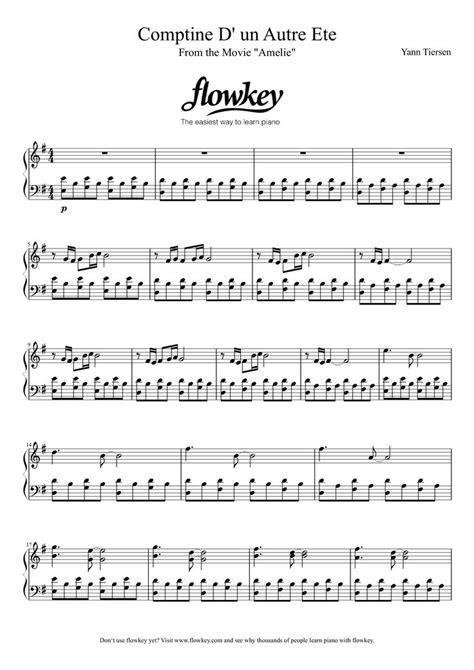 best yann tiersen album best 25 free piano sheets ideas on free piano