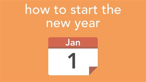 what date does new year start 2015 how to start the new year