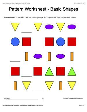 pattern games for middle school 59 best images about pattern worksheets on pinterest