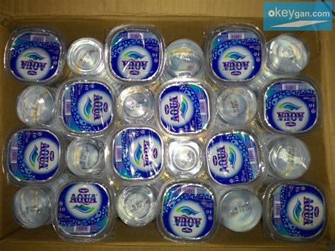 Teh Gelas 1 Dus jual aqua air mineral cup gelas air minum kemasan toko s