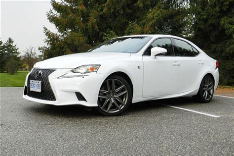 lexus is f sport 2015 test drive 2015 lexus is 350 awd f sport autos ca