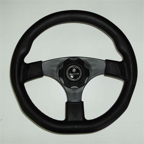 boat steering wheel pics new oem gussi boat steering wheel m500 all black plastic