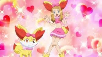 Pokemon serena fennekin outfit images pokemon images