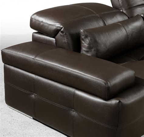 Chocolate Brown Sectional Sofa by Modern Chocolate Brown Sectional Sofa