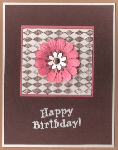 Easy Handmade Cards - easy handmade birthday card the cardmaking and crafts guide