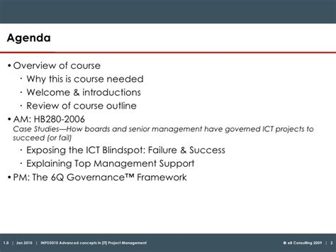 Unit I Article Review Mba 6941 Managing Project Teams by Breakthroughs In It Project Management Slideshare