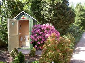 garten toilette selber bauen flexi gartentoilette