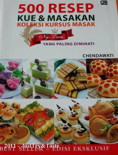 review buku  resep kue masakan koleksi kursus