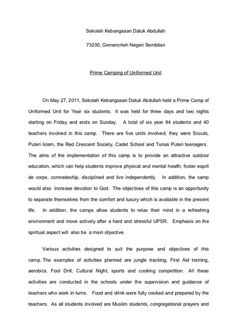 Report Format Essay by Report Essays 3