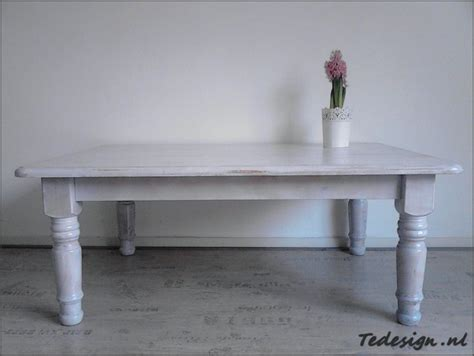 landelijke salontafel off white salontafel white washen msnoel