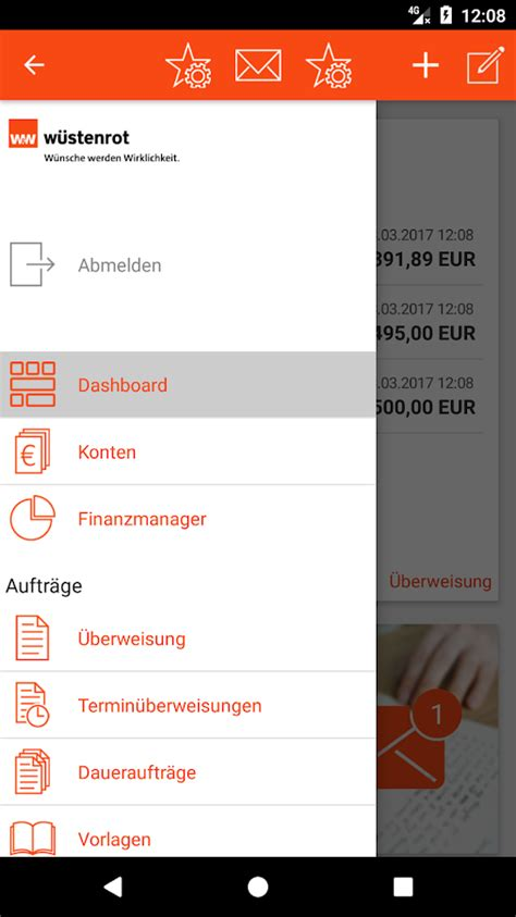 wüstenrot bank w 252 stenrot banking android apps on play