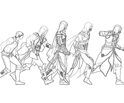 coloring pages for unity unity assassin assassin s creed sketches pinterest