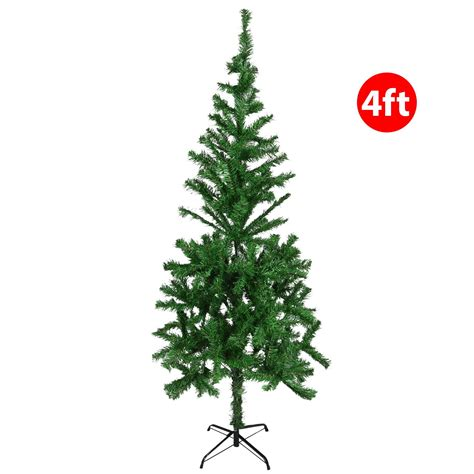 green head christmas tree snow fall artificial green trees festive snow tipped pine cone decoration ebay