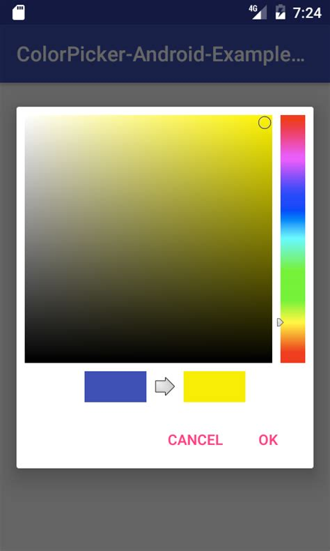 android color picker color picker 2 android exles