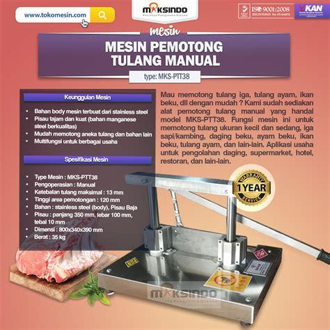 Jual Timbangan Manual Di Semarang jual pemotong tulang manual ptt38 di semarang toko