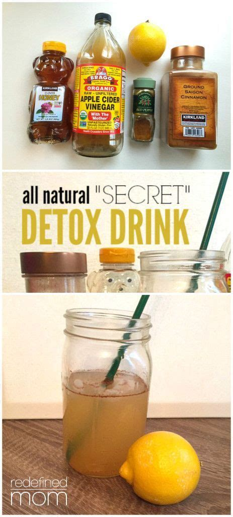Secret Detox Diet by All Quot Secret Quot Detox Drink Recipe Immune System