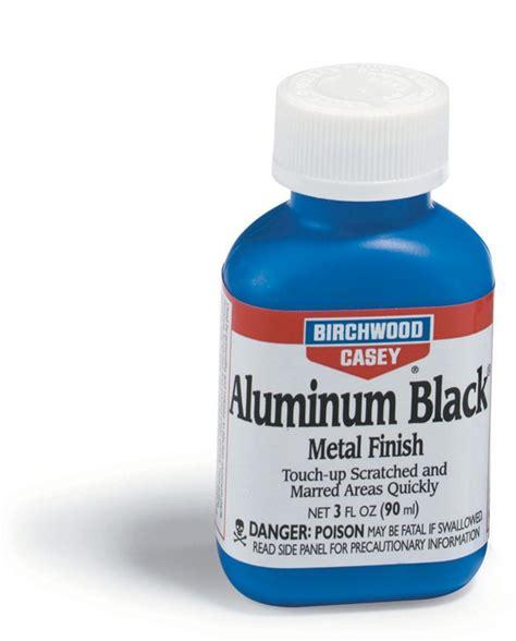 aluminum black 174 metal finish birchwood casey preparation blueing birchwood casey maintenance