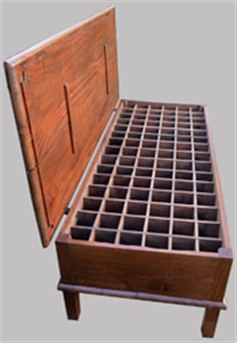 meubles anciens de m 233 tier pour imprimeurs grainetiers