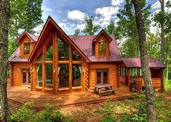 Large Cabins by Wood Cabin Large Windows Home Home