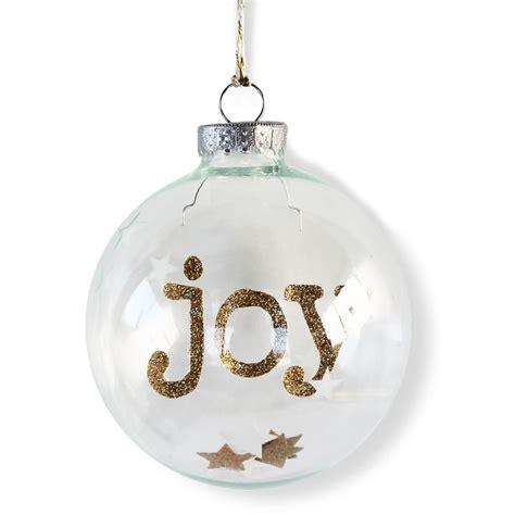 joy etched stars christmas ornament christmas ornaments