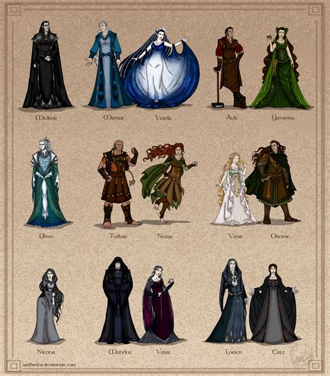 The Silmarillion A by The Silmarillion The Valar Couples Version By Wolfanita