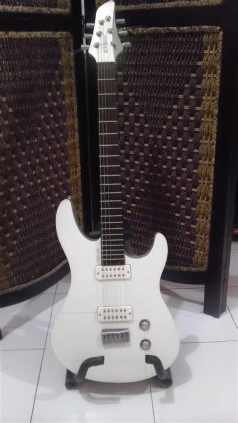 Harga Gitar Listrik Yamaha Rgx 012 gitar listrik elektrik yamaha rgx a2 warna putih murah