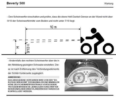 Motorrad Scheinwerfer Einstellung by Scheinwerfer Einstellen Motorrad Bmw Automobil Bau