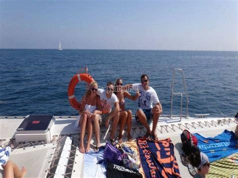 excursion en catamaran valencia excursi 243 n en catamar 225 n en valencia 1 horas ni 241 os