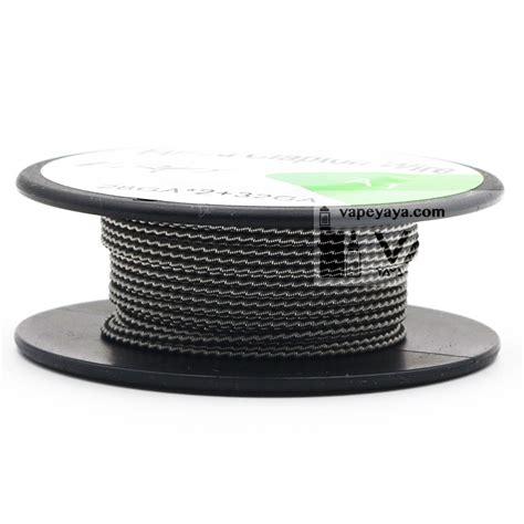 Nichrome 80 Awg 32hq Sandvik Best Flavour fused clapton wire coil 15ft