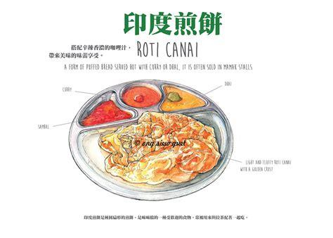 food illustration drawing  behance