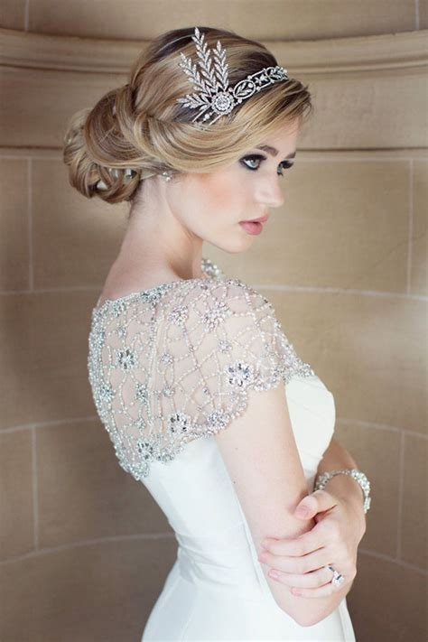 Wedding Hairstyles With Headpiece by Wedding Accessories 20 Charming Bridal Headpieces To Match