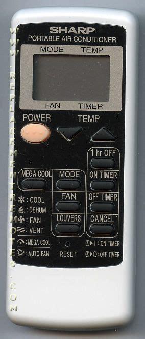 Remot Ac Sharp Plasmacluster Original 9 buy sharp crmca750jbez air conditioner unit remote