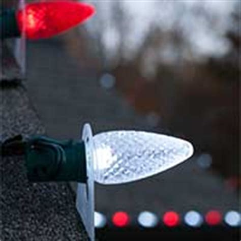 roof line christmas clips outdoor lights ideas for the roof