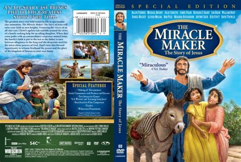 The Miracle Maker The Miracle Maker Dvd Covers Labels By Covercity