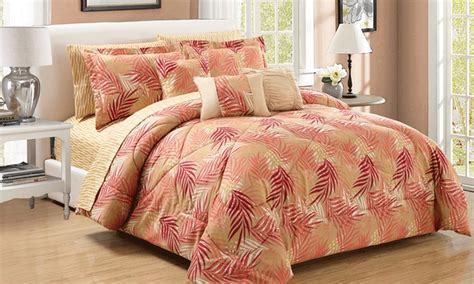 groupon comforter set comforter set 10 piece groupon goods