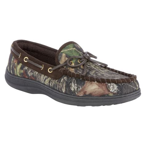 camo slippers craftsman s trapper slipper mossy oak camo shop