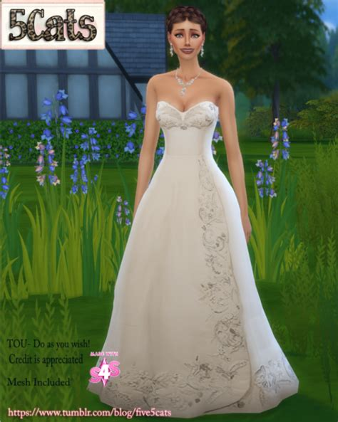 ball gown sims 4 sims 4 gown tumblr