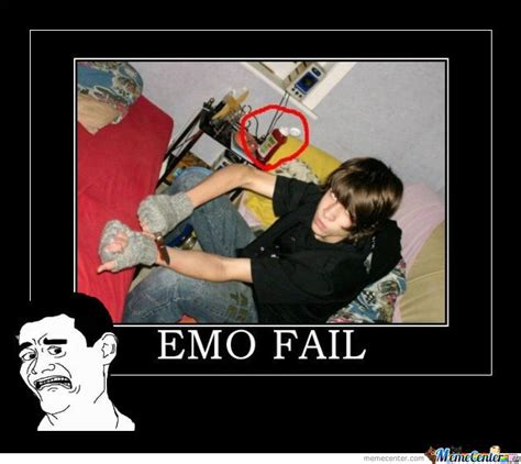 Funny Emo Memes - emo fail by idontreallycare meme center
